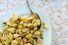 Roasted Cauliflower with Cumin and Saffron Recipe