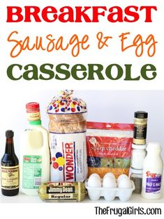 Breakfast Sausage and Egg Casserole Recipe! ~ from TheFrugalGirls.com ~ SO delicious and perfect for Saturday breakfast, Sunday brunch, or even Easter, Thanksgiving or Christmas morning! #overnight #casseroles #recipes #thefrugalgirls