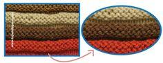 Tutorial: punto elástico horizontal tejido a en dos agujas o palitos