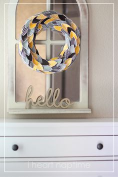 A Perfect Fall Wreath (free printable)