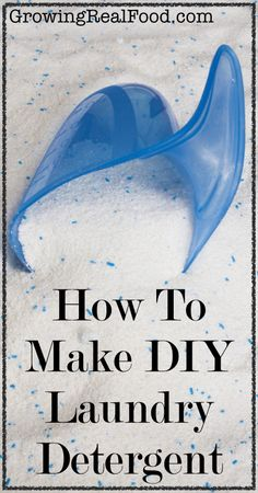 How To Make DIY Laundry Detergent | GrowingRealFood.com