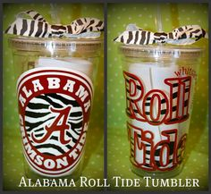Tumbler-Alabama Roll Tide