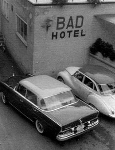 sign, names, road trips, white, bad hotel, place, black, photographi, hotels