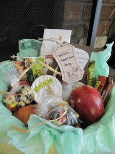 12 Midnight: Krissa's Creative Hands: Midnight Feedings Basket for New Momma