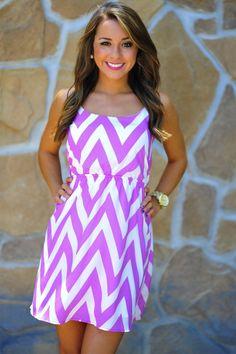 Chevron Sun Dress