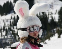 The Easter Bunny ate my helmet!  #vailvalley