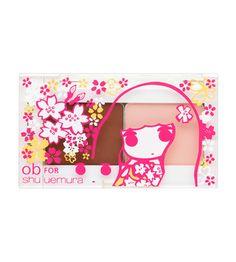 Duo Custom Case from Ob x @Shu Uemura collection. Love!