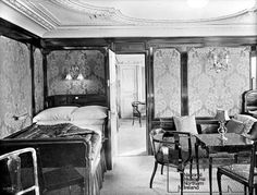 Titanic first class suite bedroom 'b60'
