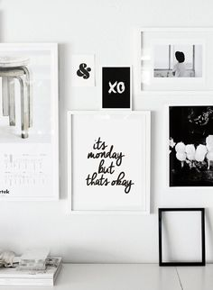 Motivational Wall Decor Its Monday But Thats by TheMotivatedType