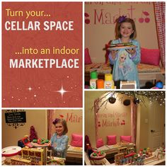 Turn your cellar space into an indoor marketplace!