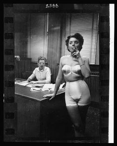 Lingerie Photo taken by Stanley Kubrick