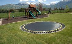Inground trampoline!