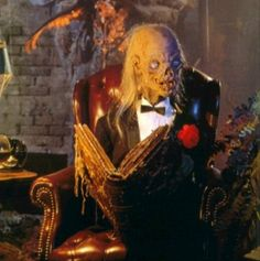 eeeehhheeeheheheeeee.  Will never forget his wicked laugh.  Tales From The Crypt....scared me as a kid.