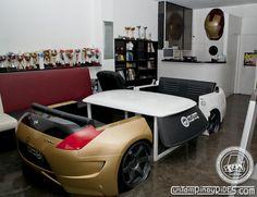 "Designer Automotive Furniture  ""CARNITURE"" by Atoy Customs    http://custompinoyrides.com/2012/09/designer-automotive-furniture-carniture-by-atoy-customs/"