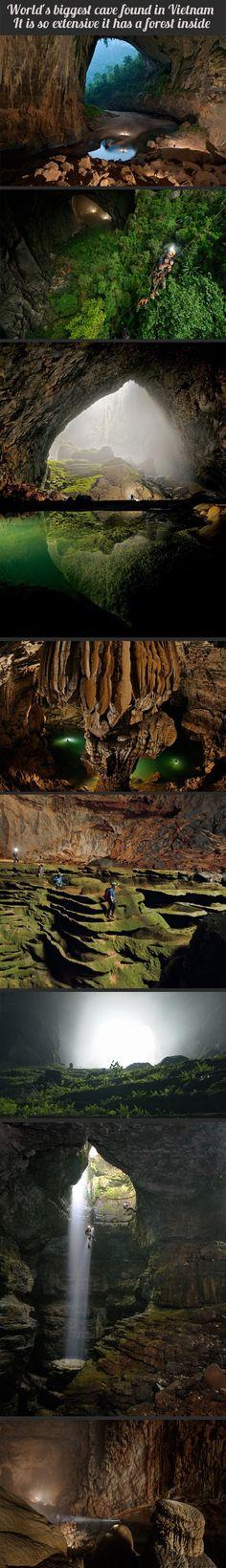 Worlds biggest cave. Sounds like SKYRIM