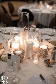 Just candles centerpiece