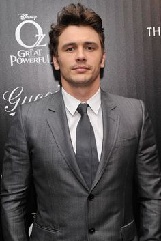 Suited Up: James Franco suited up for a special NYC screening of Oz the Great and Powerful on Tuesday night.