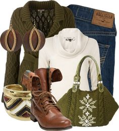 """""""Greenish Brown Female Sheep"""" by xx8763xx on Polyvore"""