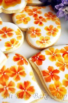 TUTORIAL: One Stroke Flowers - Ali Bees Bake Shop