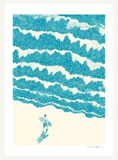 To The Sea - Print