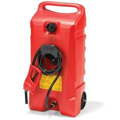 The 14 Gallon Portable Gas Pump - Hammacher Schlemmer