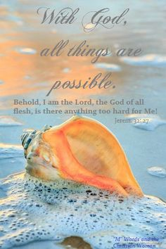 If your god is too little... Try mine.  There is nothing too hard for my God.