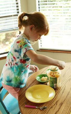 simple ways for pre schools to help in the kitchen