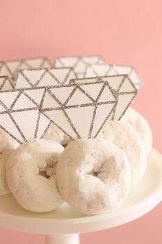 Bridal Shower DIY: Donut Diamond Rings