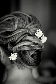 Updo without the flowers