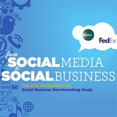 Ketchum study examines social business.