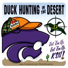 Fiesta Bowl K-State Powercat posted on my Robel Graphics Facebook page.