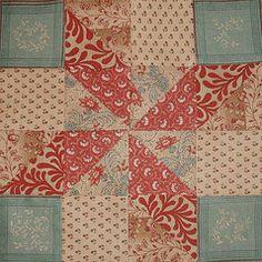 Beautiful Civil War quilt block