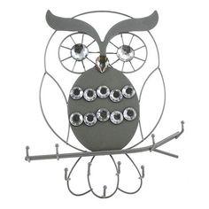 Fetco Owl 9-Hook Wall Decor