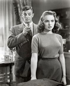 """Steve Mason (Robert Mitchum) to Connie Ennis (Janet Leigh): """"Carl isn't the real threat to me. Maybe I'm not to him. This isn't two fellows and a girl, you know. This is two fellows, a girl and her husband. I can't fight a shadow - I tried - competition's too tough. You were even going to play it safe and settle for someone you didn't love so you wouldn't be unfaithful to your husband."""" -- from Holiday Affair (1949) directed by Don Hartman"""