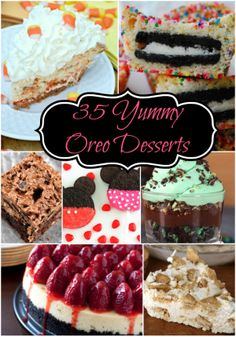 35 Yummy Oreo Desserts #baking #recipes