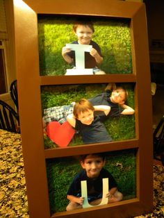 Fathers day present me and my boys made! ;)