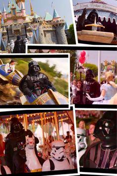 Darth Vader goes to Disney