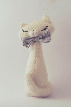 Stuffed kitty tutorial ~ so cute