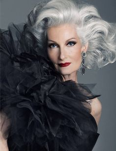 """""""Our culture is fearful of ageing,"""" said (Caryn) Franklin, """"and especially ageing women. I say, 'Stop apologising for getting older. Embrace it.' I want young women to see that beauty ages beautifully and there is no need to feel that getting older is something that has to be medicated, managed with surgery or be obsessed about."""""""
