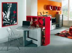 Modern Study Room Decor