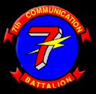 7th Communication Battalion (7th Comm), Marine Corps Base Hansen Okinawa.