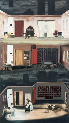 Mamma Andersson, Dollhouse, 2008