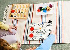Montessori grammar solids