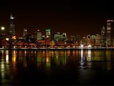 favorit place, chicago bear, chitown, night, sweet home, citi, chicago skylin, chi town, chicago cub