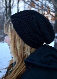 Hey, I found this really awesome Etsy listing at https://www.etsy.com/listing/121854229/black-slouch-hat-beanie-his-or-hers-mens