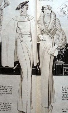 1930s gowns