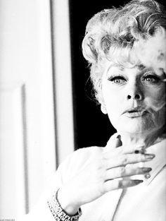 Lucille Ball ~ didn't she die from lung cancer   ??