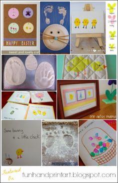 30+ Easter Handprint Art & Crafts #HandprintHolidays