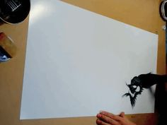 Stunning Paintings Of Dragons Made With Almost A Single Stroke - DesignTAXI.com