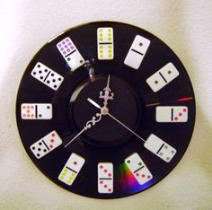 Large Wall Clock, Home and Living, Decor and Housewares, Home Decor, Game Room Decor,  Gift For Him